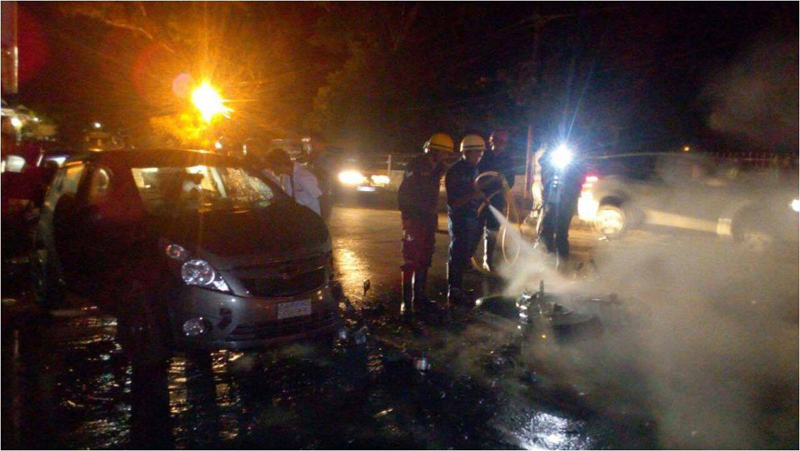 Accident at IGP Point Shillong
